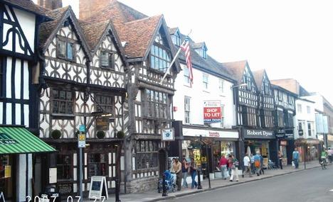 Historic Town Centre Start Line